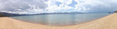 My panorama of Lake Tahoe.
