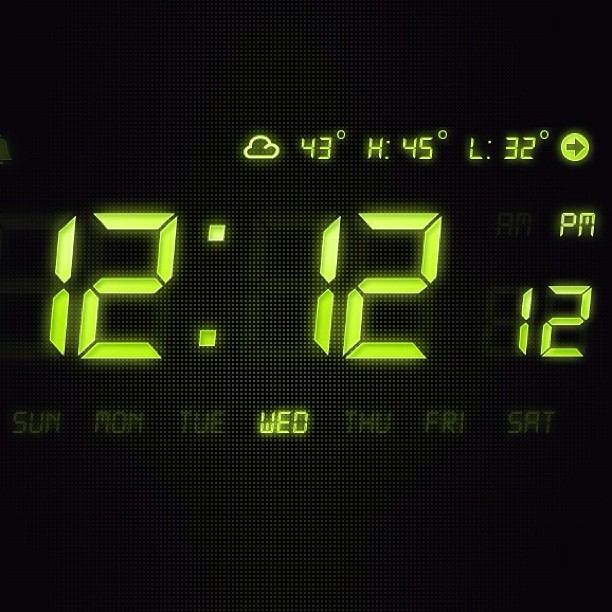 It's #1212chi, according to my clock.