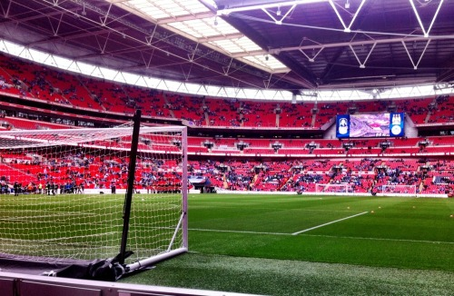 Wembley time!