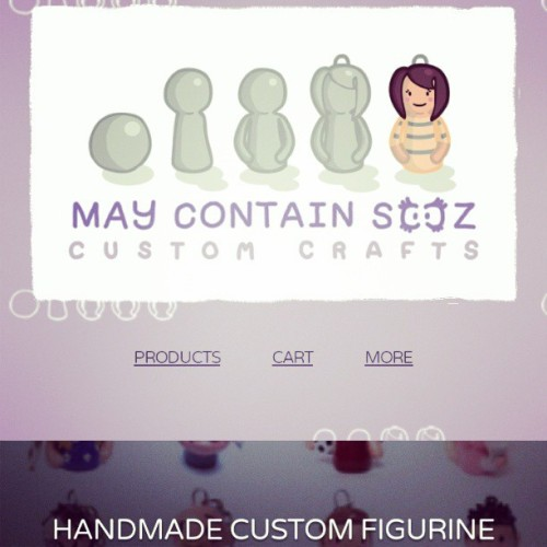 Updated my shop! All items are open now, and the interface is more mobile friendly so you can buy stuff on the go :) #maycontainsooz #maycontainsoozcustomcrafts #accessories #keyring #keyrings #charms #figurines #statuettes #caketoppers #clay #polymerclay #handmade #custom #customgifts #smallbusiness