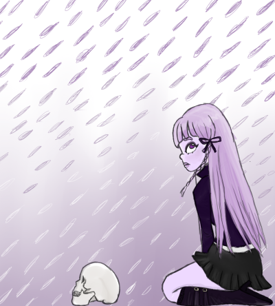 took a break from doodling to doodle ??? welp here is kirigiri-san~