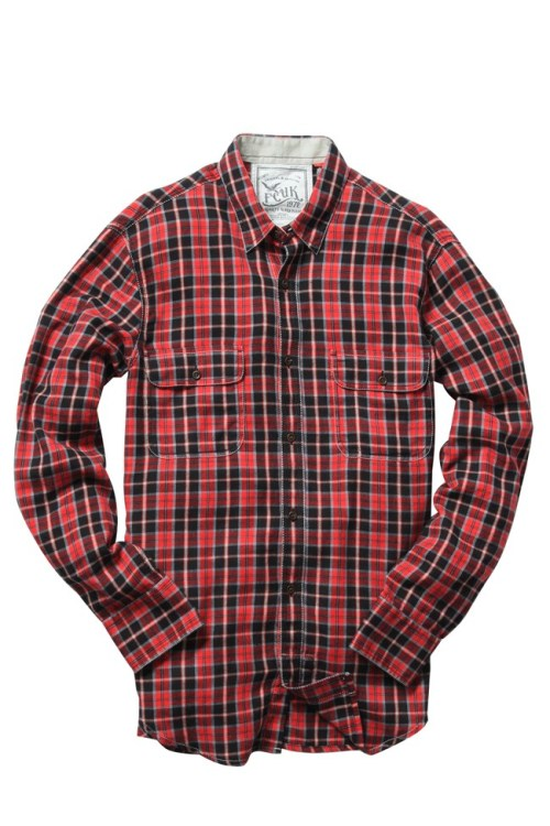 Twiddle Diddle Check Shirt by French Connection http://goo.gl/D2qXG