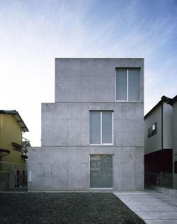 Threefold house, Oita, Japan, Takao Shiotsuka :: 2005-2007 (Thanks to Index)