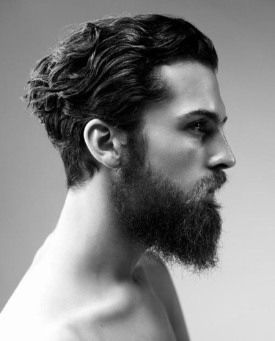 beardsftw:  digital-glitter:  Fabian Nordstrom by Daniel Jaems  [Follow BeardsFTW!]