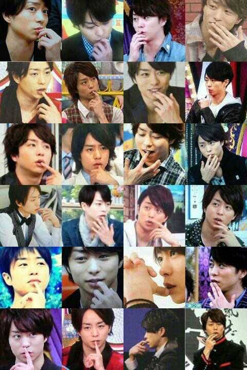 fyeahsakumoto:  Sho and his hands…..