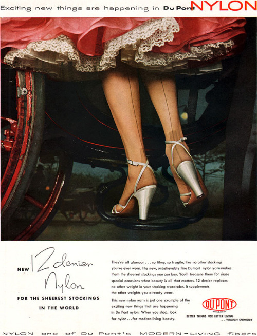Du Pont Stockings 1953