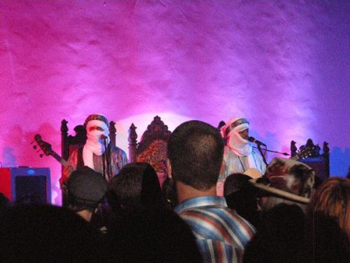 A few photos from Tinariwen's sold-out show at Hollywood Forever's Masonic Lodge last night. Great show with an enthusiastic crowd! GetImidiwan: Companions on iTunes.