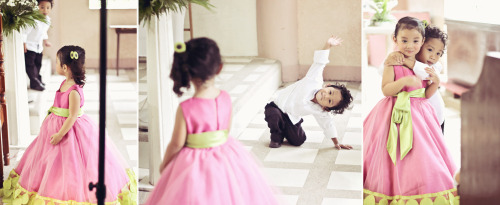 sunlitneverland:  Hello Princess! #kidsnowadaysDuring my cousin's wedding last Saturday.  so sweet ( ꈍ ω ꈍ)