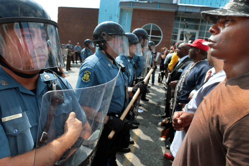 thevampirequeen:  Civil Rights Movement vs Ferguson Protests   Wow.