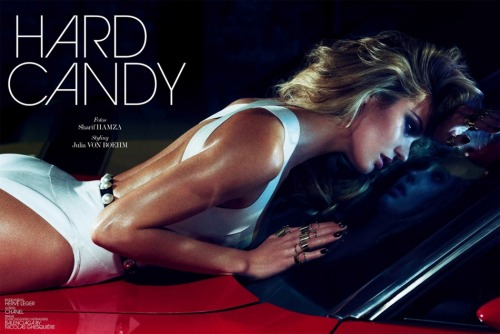 """Hard Candy"" (+) Interview Germany, June 2013 photographer: Sharif Hamza Candice Swanepoel"