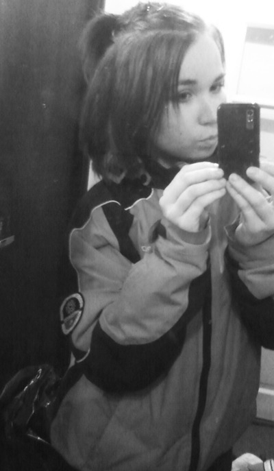my big big jacket. i like it though. and i like my hair here. just waiting for it to growwwww more