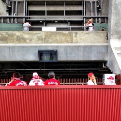 Smoking section #hiroshima #carp #baseball #gethiroshima by...