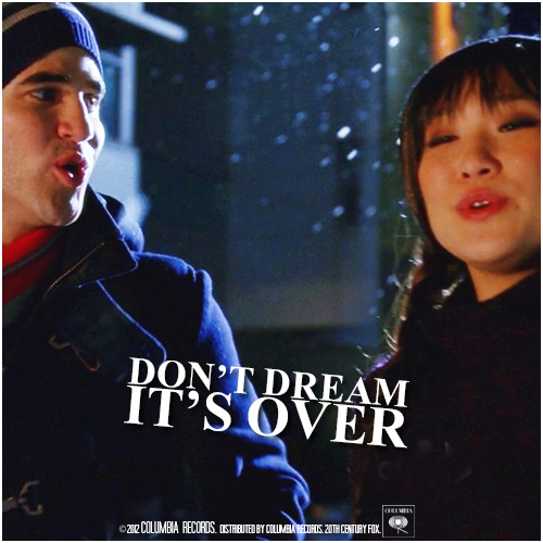 4x09 Swan Song | Don't Dream It's Over Requested Alternative Cover Request by @A_Gleeky_Gleek