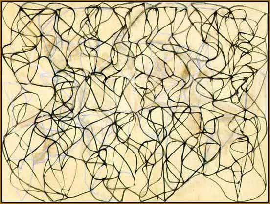 Brice Marden  Cold Mountain Painting, 1989-91