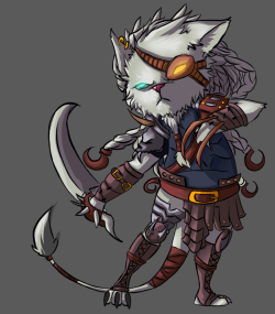 letsfeedtogether:  Cute Rengar from League of Legends