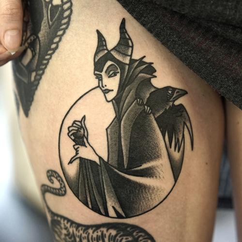 Disney Tattoos Tattoo Sleeping Beauty Maleficent Philip