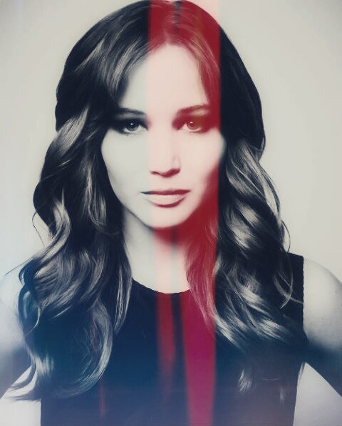 Jennifer Lawrence is… gorgeous. That's the only good word to describe her with.