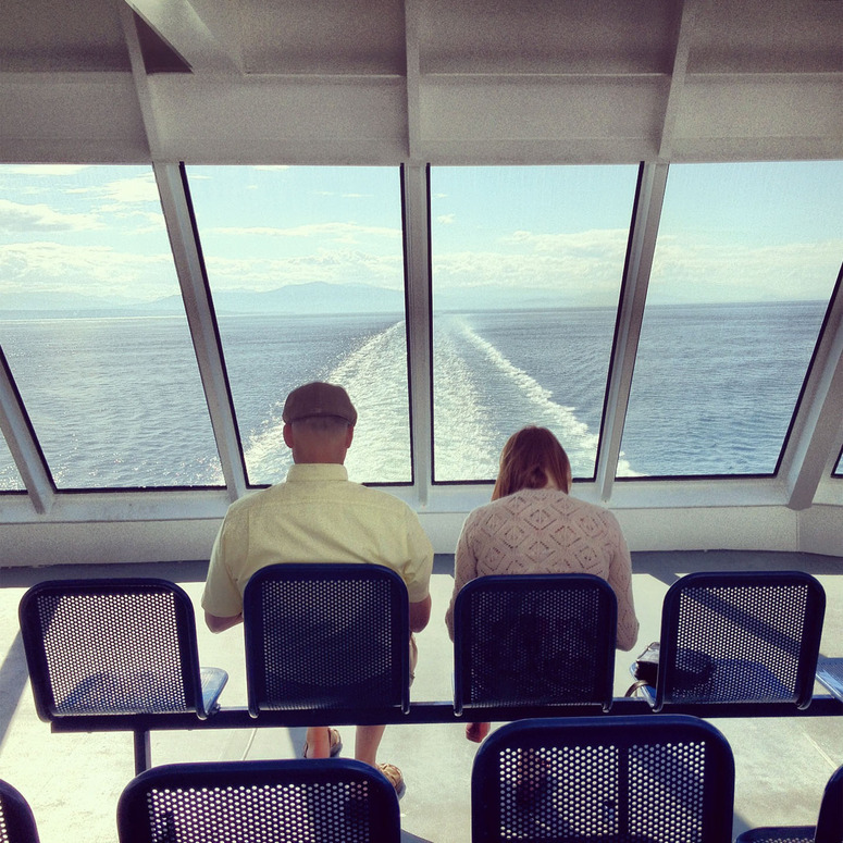 "hitrecord:  ""ferry couple"" Photo by Dotunfolded"