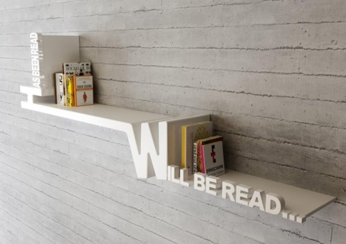 bozobooks:  Another awesome bookshelf!