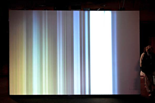 Apparition Kasper Vang 2012 Sound & light installation