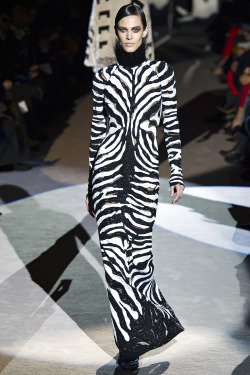 Ceremonial dress of the Jogos Nhai  Tom Ford Fall 2013 Collection