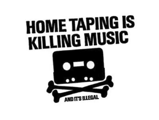 "From a wonderful article at ""Killing the Buddha"" titled ""Home taping is skill in Buddha, to be found here."