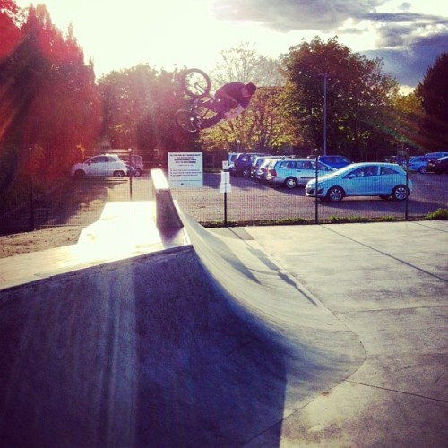 First riding photo in ages #bmx #skate #park