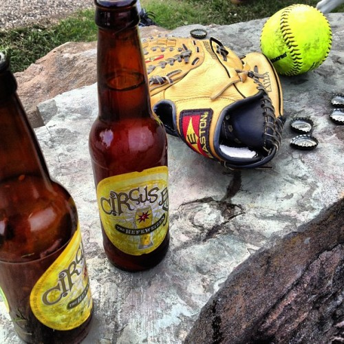 Softball season. http://bit.ly/12F5kZw