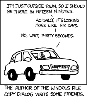 xkcd:  Estimation