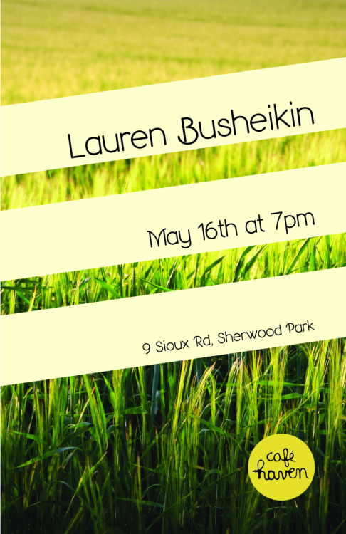LAUREN BUSHEIKIN Thursday, May 16th, 2013