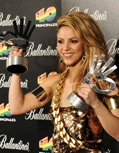 iheartshakira:  The Queen of Awards