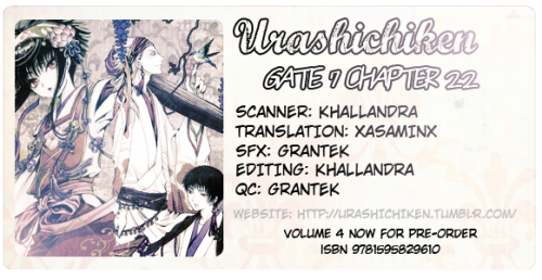 Gate 7 - Chapter 22 - Kyoto Gourmet Food Special  mediafire | mirror creator | mega  No Chapter next month, see you in May not sure whenGate 7 Volume 4 Dark Horse English Edition will be available in the coming months, ISBN 9781595829610 show your love by purchasing it!