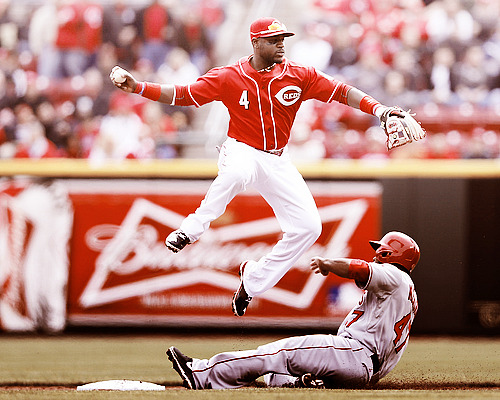 Did you know that Brandon Phillips could levitate?