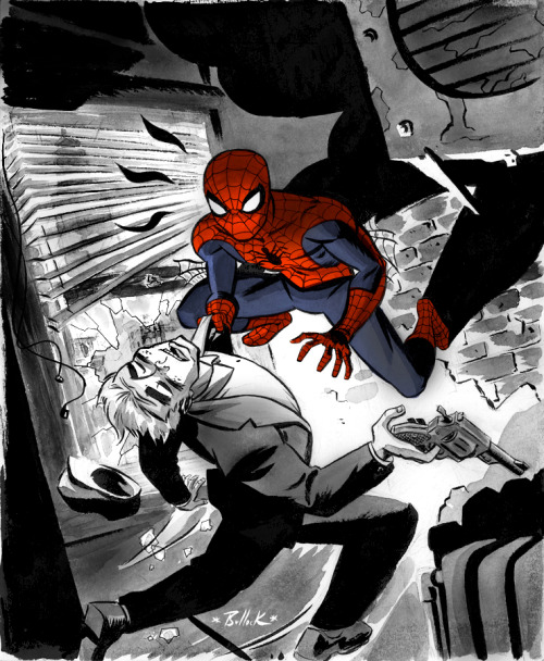lulubonanza:   Spidey Year One by *DaveBullock