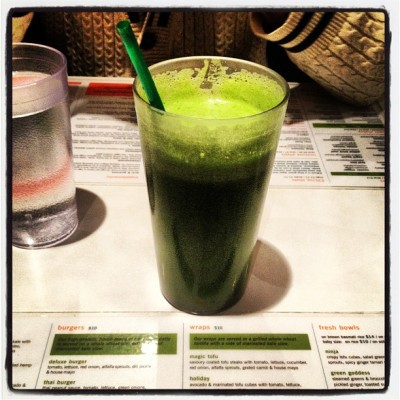Mmmmm #Fresh #green #juice!!!!  #Toronto  (at Fresh on Bloor)