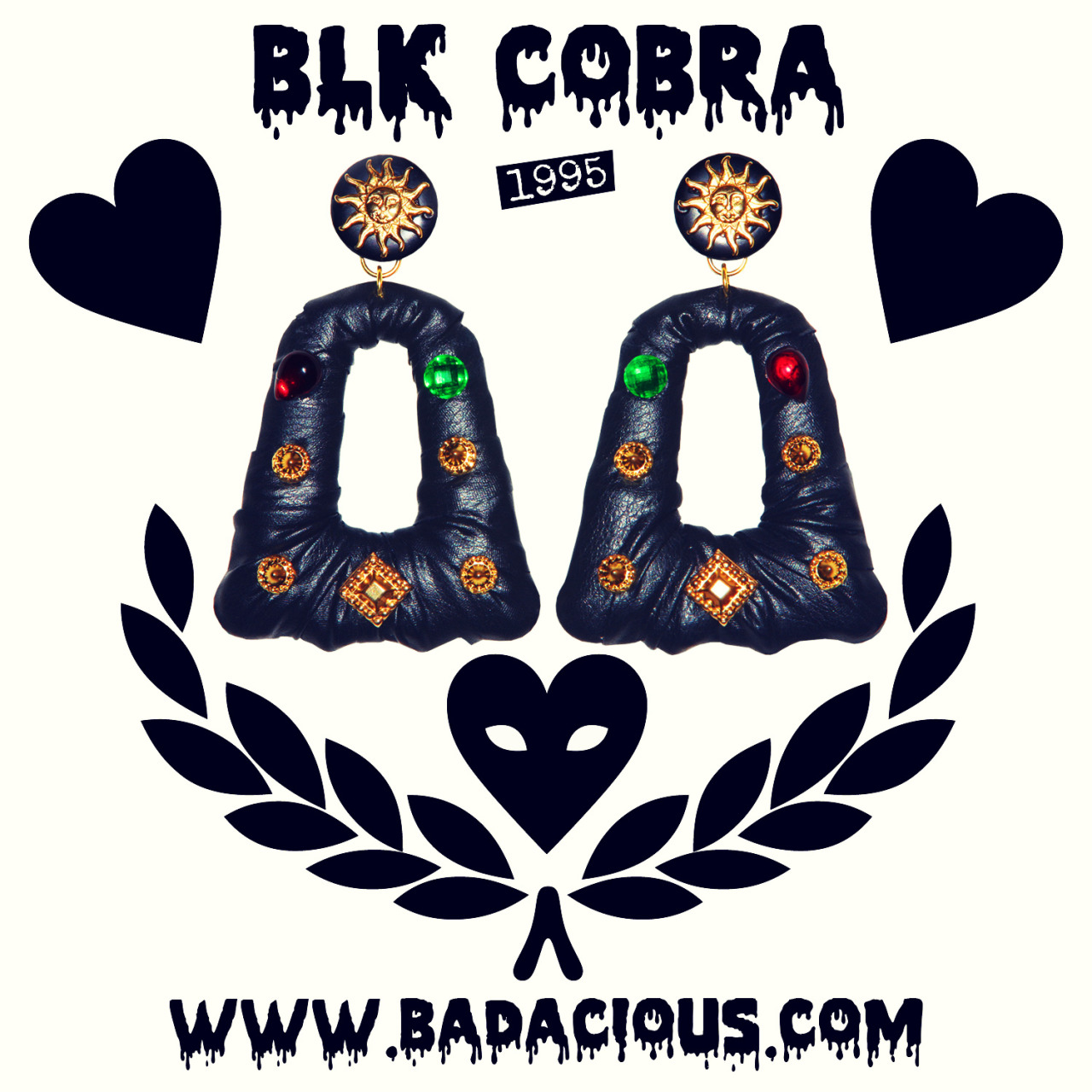 "1995 ""BLK COBRA"" RELEASE TONIGHT AT 8PM EST!! http://www.BADACIOUS.com/"
