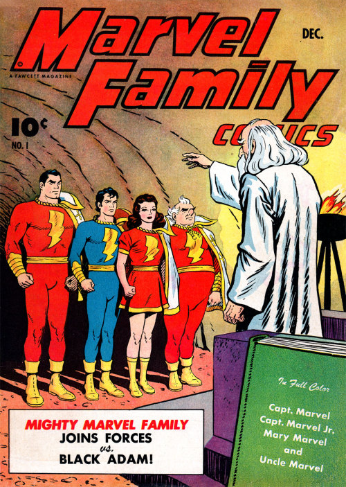 comicbookcovers:  Marvel Family Comics #1, December 1945, cover by CC Beck