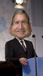 Republican reformers are reluctant to admit the obstacle that Bush's legacy poses to public confidence on foreign affairs. Although they acknowledge that the wars have been unpopular and expensive, they present these facts…as if the deaths of nearly 7,000 Americans were the result of weather or other uncontrollable forces…Who do they think they're fooling? Then there's the economy…long-term problems of unemployment, wage stagnation, and rising health-care and education costs…they are reluctant to acknowledge that the Bush administration did little to reverse these trends, and in some ways exacerbated them…the Bush administration regarded tax cuts as a signature achievement. Ordinary citizens have long…memories.  more.