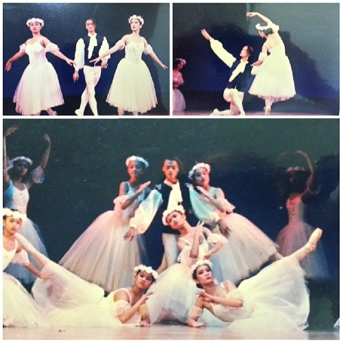 Les Sylphides. 1999. Say hello to (Teacher) Stan! @kristalbuen @sethnorman #throwbackthursday #TBT #ballet #ballerina #dance #instacollage #instagram