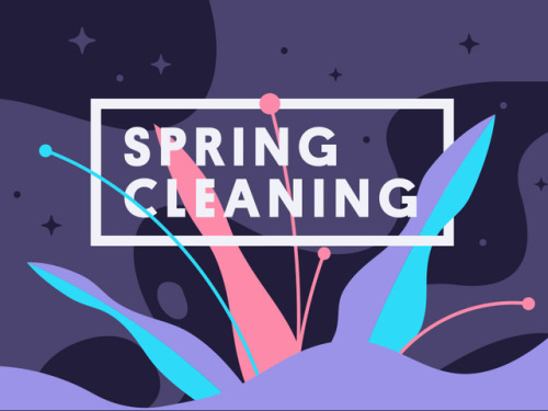 dddribbble:  Spring Cleaning SALE