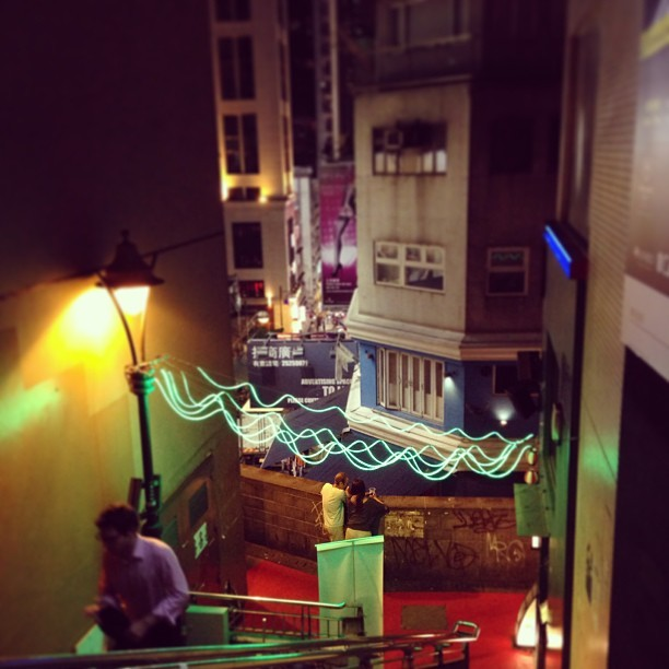 Party colors. #hongkong #lankwaifong