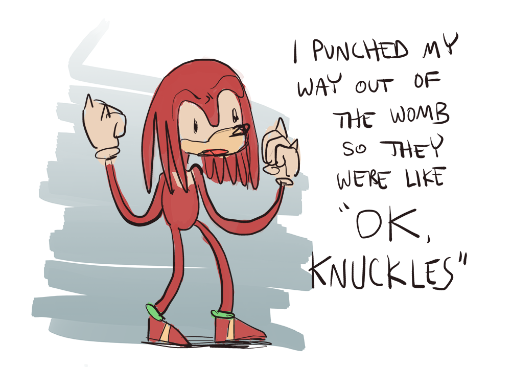 knuckles origin story