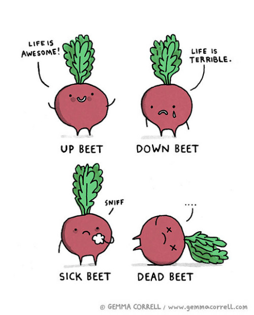 beets by gemma correll on Flickr.