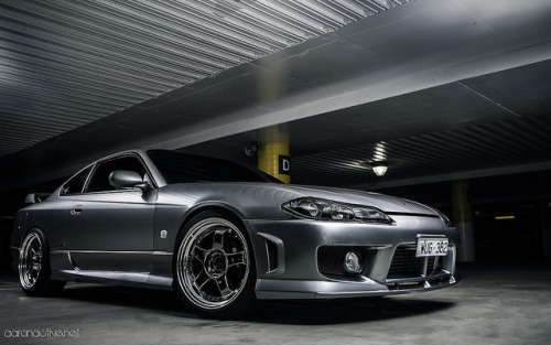theautobible:  Pewter S15 on SSR Professor's by aaronactive.net on Flickr.TheAutoBible.Com