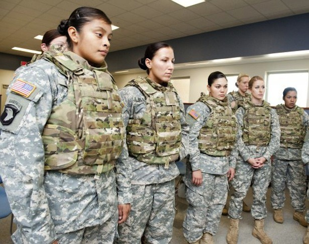 "Women in Combat: History, Aided by Technology  The Pentagon's decision to end its ban on women-in-combat — a change announced, formally, this afternoon — is simply a decision whose time, in many, many ways, has come. But it is also, importantly, a decision that technological advances have made easier: more sensible, more practical, more impermeable to objection. While some will still make social and cultural arguments against women serving on the front lines — most of which will boil down to the idea that it's hard for ""bands of brothers"" to coalesce when sisters are part of the equation — most other objections are now, or will soon be, preempted. And that's in part because of technology. Read more. [Image: David Kamm, U.S. Army Natick Soldier RD&E Center]"