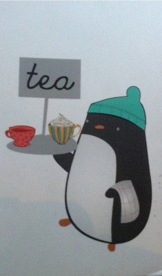 javocalabash:  Penguin Tea