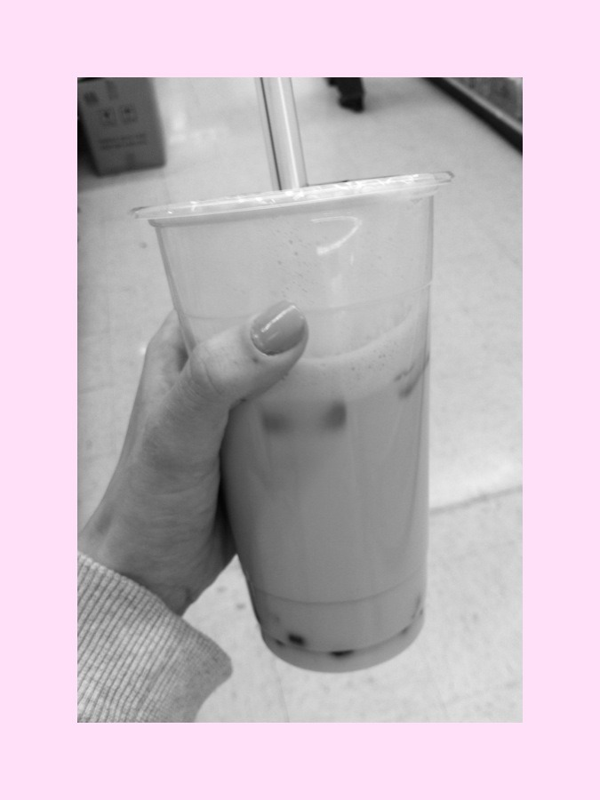 yay finally got bubble tea for the first time in forever
