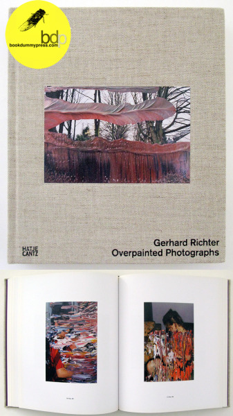 "Overpainted Photographs by Gerhard Richterhttp://store.bookdummypress.com/product/overpainted-photographs-by-gerhard-richter Being that photographs often represent one moment in time it may be a natural conclusion that by default they also represent a response by a photographer based on his or her mood at that moment. For mediums such as painting which can take days, weeks or months to complete one work, the artist can often bring a wealth of different moods to that individual work. The artist Gerhard Richter, who works meticulously layer by layer and is in a state of constant reevaluation as the process is engaged, has said of his painting that they ""never come into being in a single mood."" Overpainted Photographs features work that can be seen as departing from this sensibility allowing for direct and rapid creations of painted works which act more to represent, like photography, a single mood of the artist. (extract from the blog 5B4) http://5b4.blogspot.com/2009/02/gerhard-richter-overpainted-photographs.html"