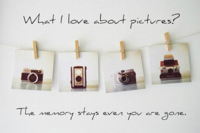 Wonder why people love taking pictures?? To preserve a memory. Undoubtedly.