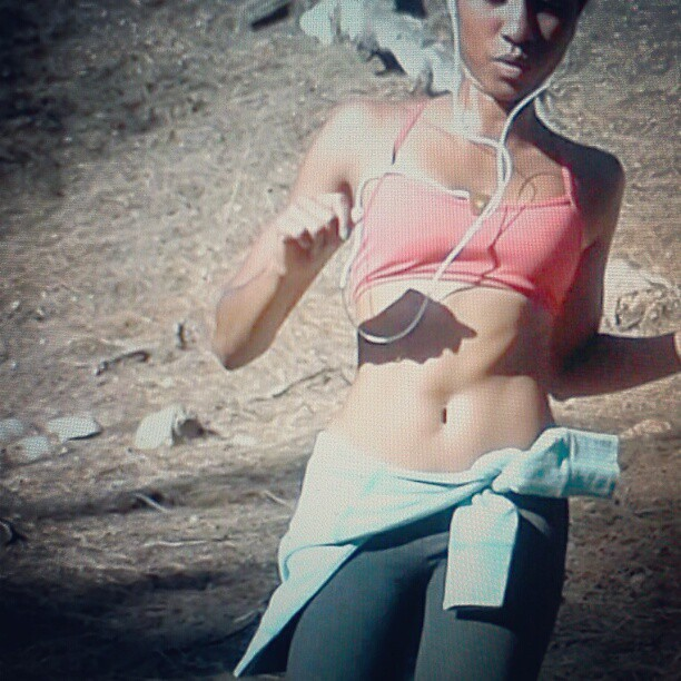 It's Saturday! Find your RUN! #livewithfire #reebok #run #fit #fitness #shapemagazine #Beautifully_Fit #health